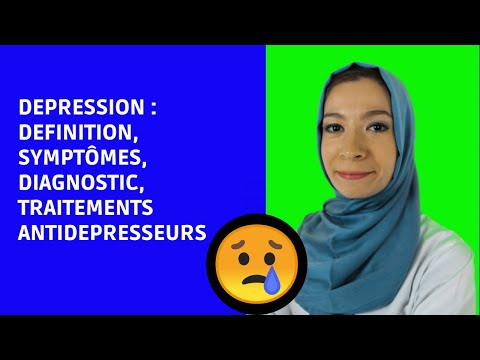 LA DEPRESSION : définition , symptômes , causes  , traitements antidépresseurs / Noura Marashi