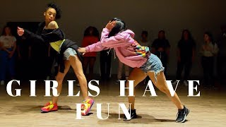 Girls Have Fun - Tyga FT G Eazy DANCE VIDEO Dana Alexa X Aryan Davenport