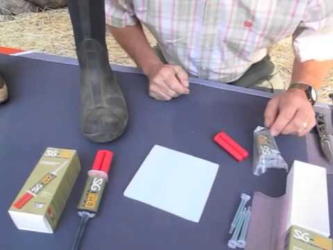 SG-20 Adhesive Repairs Boots! - YouTube