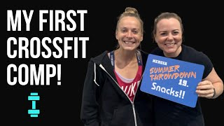 VLOG 16 - My First CrossFit Competition!
