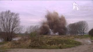Vliegtuigbom WOII veilig ontmanteld