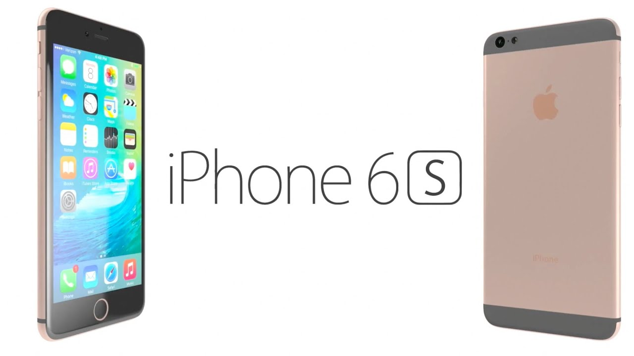 iPhone 6S Rose Gold - Concept! iPhone 6S - цвет розовое золото .