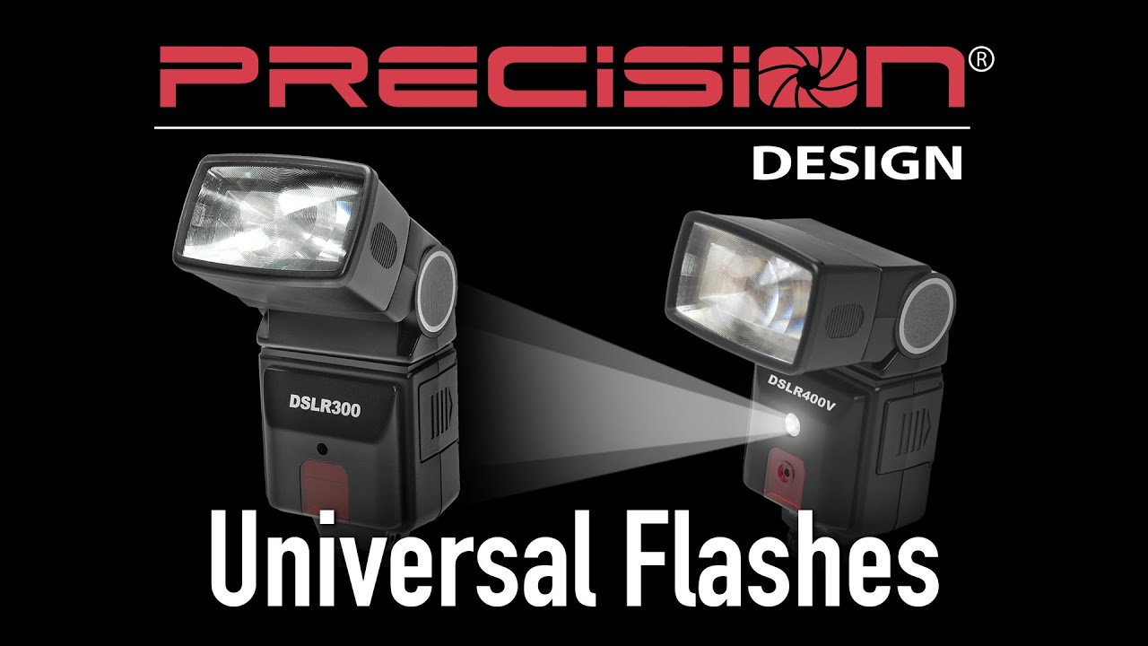 Precision Design Flashes Dslr300 Dslr400v From Cameta Camera