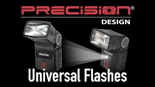 Precision Design Flashes (DSLR300 & DSLR400V) from Cameta Camera
