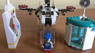 Соник в Кино Финальная битва + Финальная погоня Лего анимация (Remake)