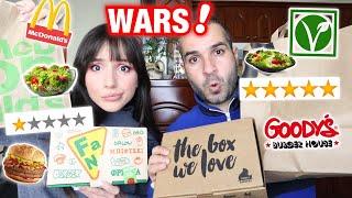 Ποιός έχει το καλύτερο vegetarian fast food | Marianna Grfld