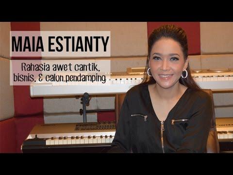 Maia Estianty, Rahasia Awet Cantik, Bisnis, dan Calon Pendamping.
