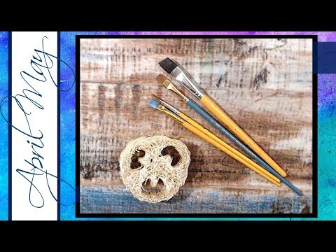 Quick Tip: How to Clean Your Brushes While You're Painting   April May Fine Art