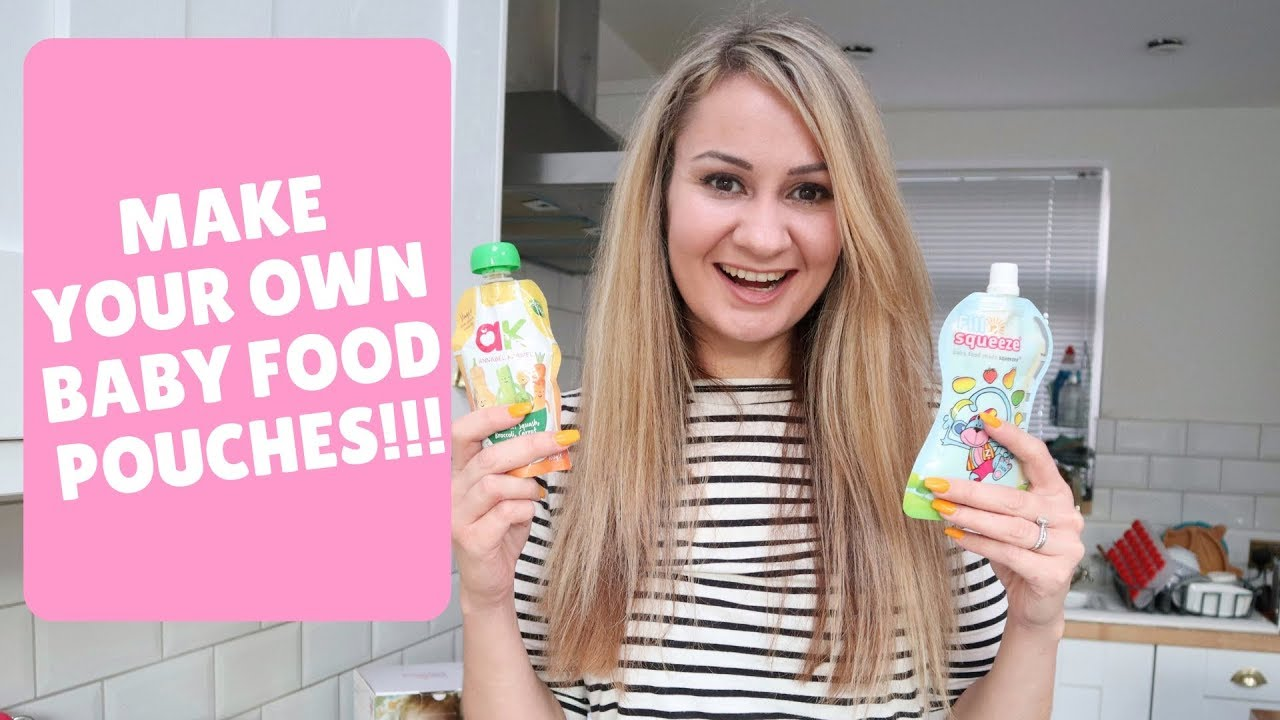 Make Your Own Baby Food Pouches! | Fill N Squeeze Review | Oh Hi DIY!