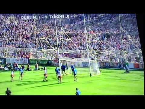 Peter Canavan's 11 Points All Ireland Final 1995 Point 9