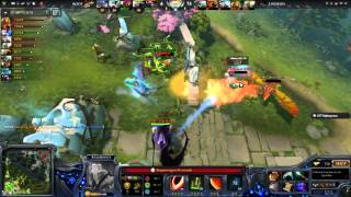 Dota 2 : Elite Wolves vs ROOT Gaming (Game 3 - Momentos Finales)