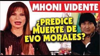 Mhoni Vidente predice cambios radicales en la vida de Evo Morales