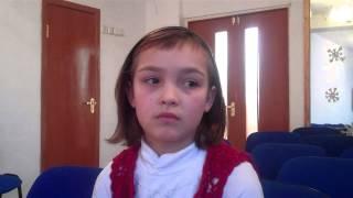 Милана Казакова в центре адаптации несовершеннолетних.