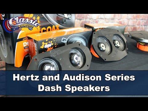 ClassicCarStereos - Hertz & Audison Series Dash Speakers