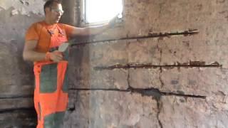 Как укрепить дом реконструкция стены клип-37
