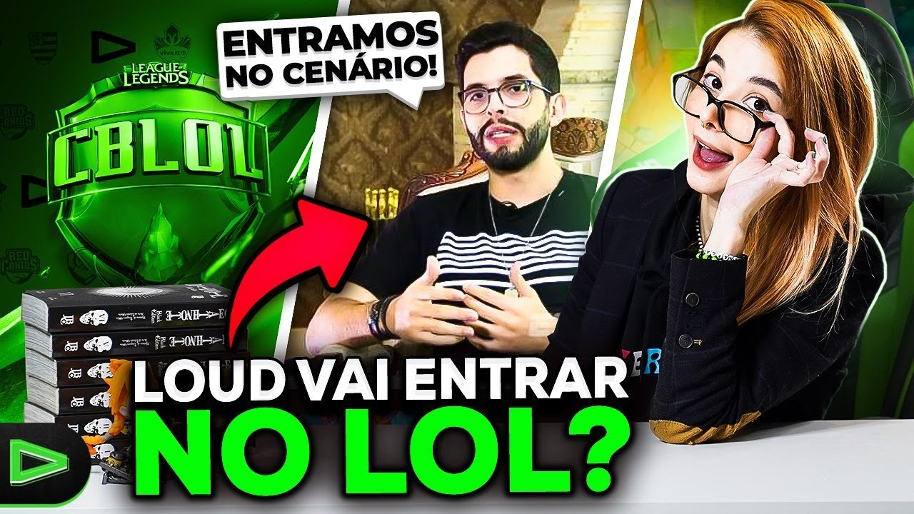 LOUD NO LEAGUE OF LEGENDS? MOBLENA É REAL? - THAIGÃO NEWS