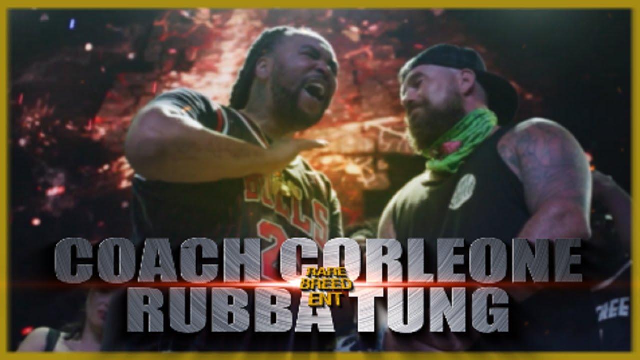 COACH CORLEONE VS RUBBA TUNG RAP BATTLE - RBE