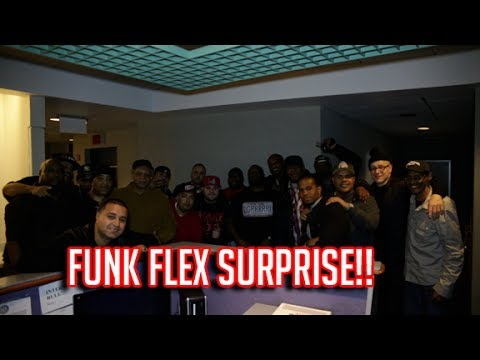 Funk Flex NY Radio Hall of Fame Surprise Tribute PT 1