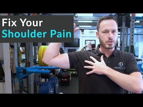 How To Fix Shoulder Pain- (The Best Exercises To Strengthen Your Injured Shoulder)