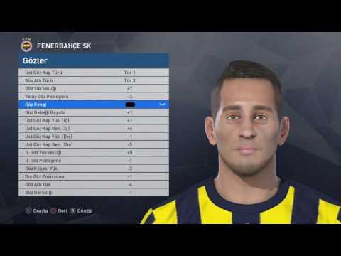Pes 2017 Face Build   Josef de Souza [Fenerbahçe] PS4