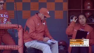 #13 Texas vs  #5 Tennessee Mar 15 | NCAA Softball 2019