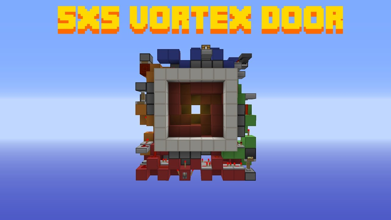 5x5 Vortex Door [Looks Awesome D]  sc 1 st  YouTube & 5x5 Vortex Door [Looks Awesome :D] - YouTube