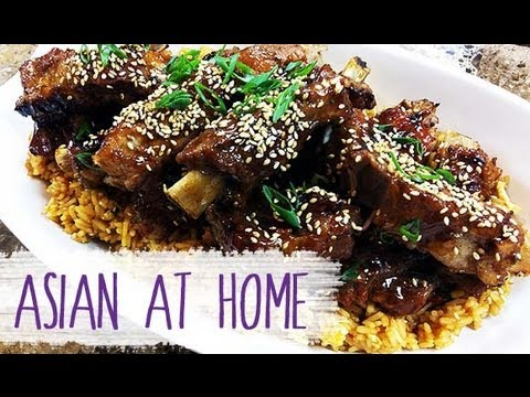 : Chinese Style Sticky BBQ Ribs : Pork(Rib) : Chinese Food : Asian ...