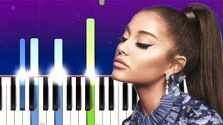 Ariana Grande, Social House - boyfriend (Piano Tutorial)