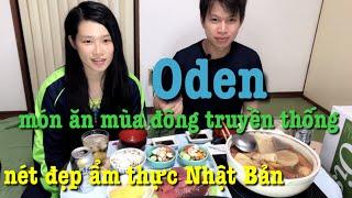 26🇯🇵 Vợ Nhật nấu món Oden món ăn mùa đông truyền thống Nhật Bản | 100% các bạn ở Nhật đều thấy qua