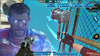CF Mobile / CF Legends | Reviews Búa Thần Sấm THOR Và COP357 VIP Transformer