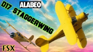 ALABEO D17 STAGGERWING Model FSX HD