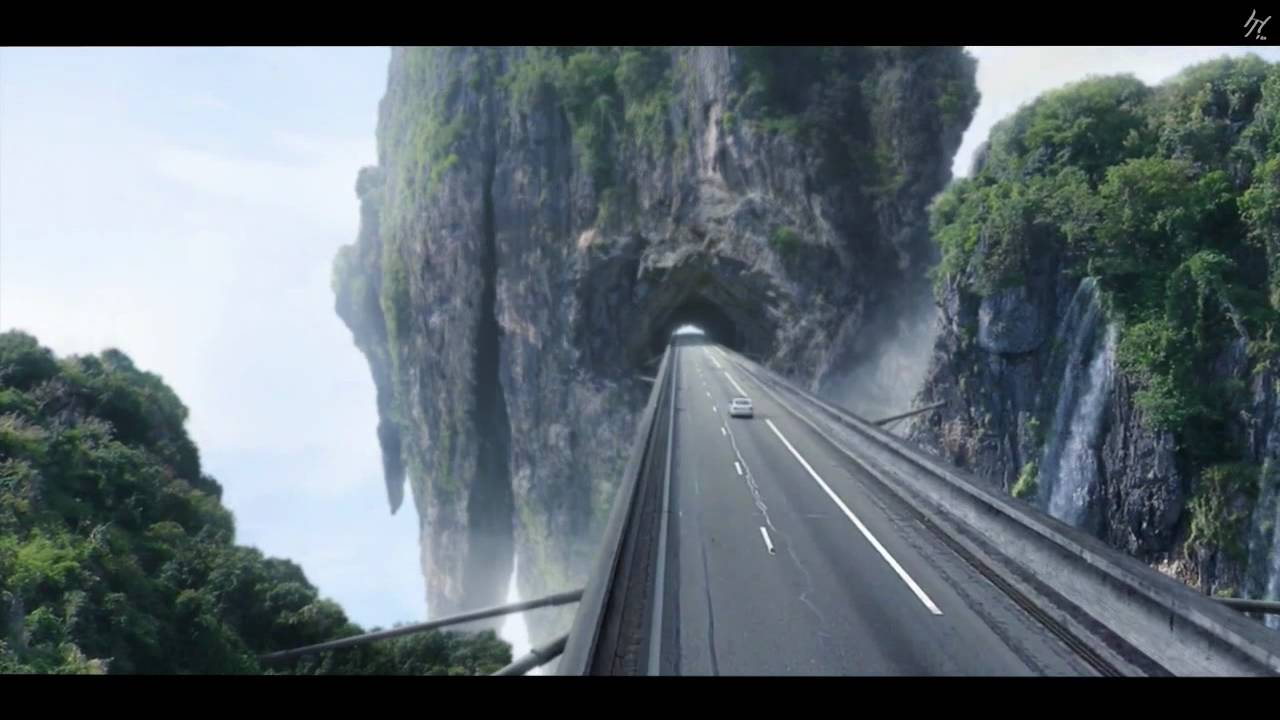 Matte painting highway to heaven youtube for Matte painting