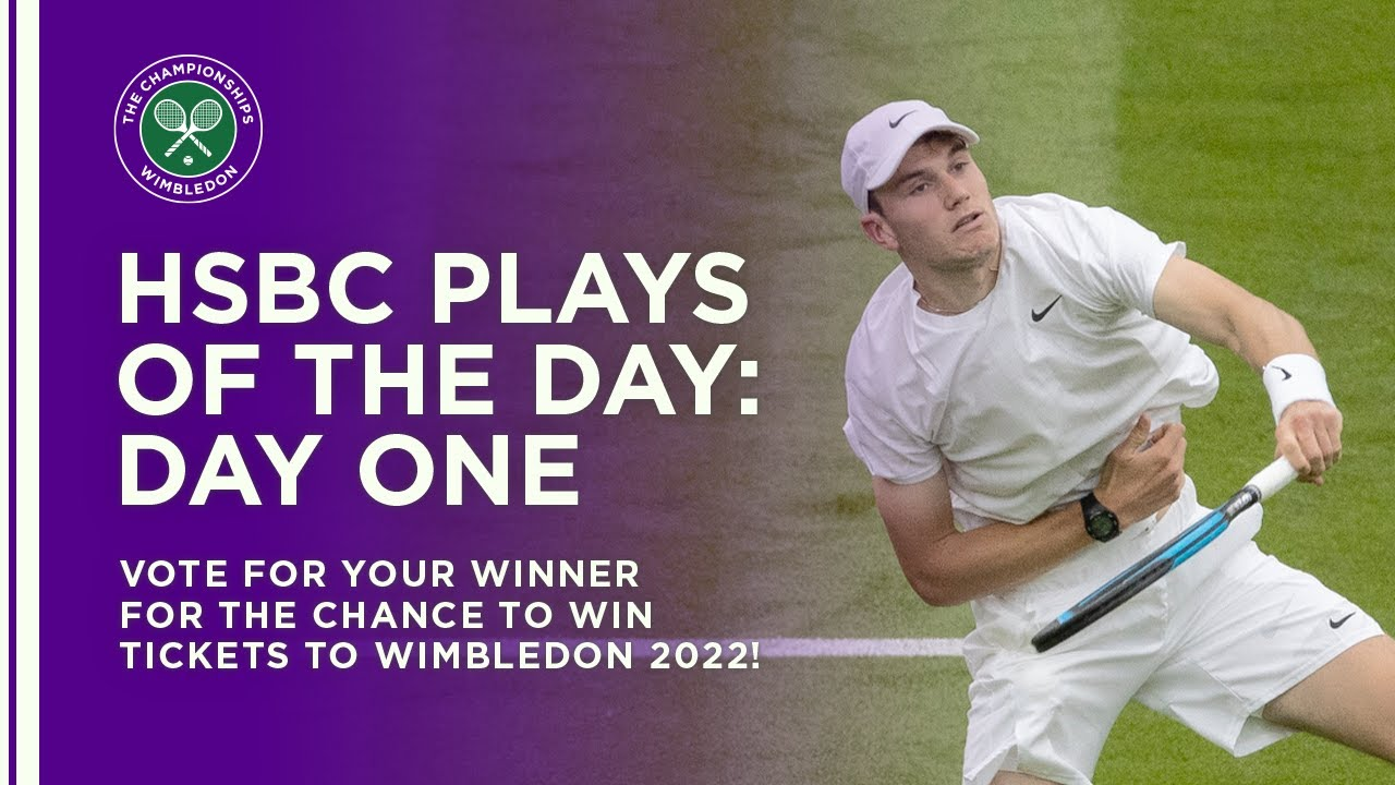 HSBC Plays Of The Day | Day 13 | Wimbledon 2021