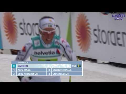 Ladies Relay 4X5km - FIS 2017 Nordic World Ski Championships - Lahti, Finland