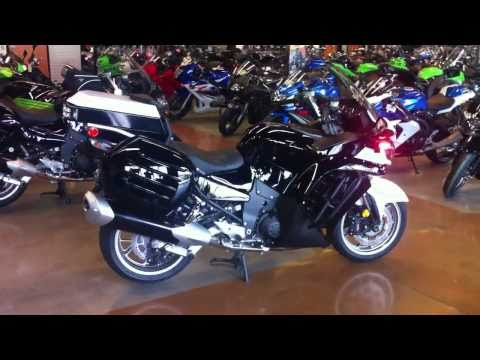 Kawasaki Concours Police Bike