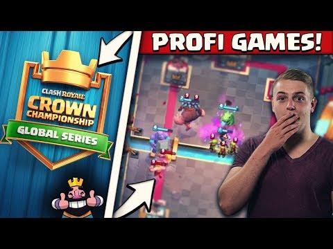 WER WIRD DER NÄCHSTE CHAMPION DER REGION EU?! | SPEKTAKULÄRE GAMES! Clash Royale Crown Championship