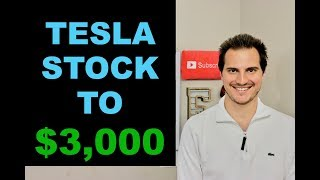 WHY TESLA STOCK IS GOING TO $3,000