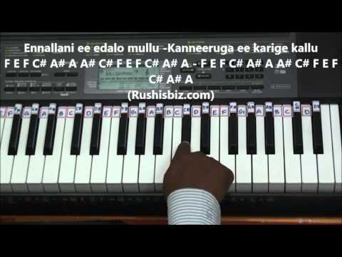 Prema Entha Madhuram Piano Tutorials - ABHINANDANA | 7013658813 - PDF NOTES/BOOK - WHATS APP US