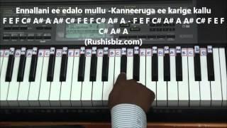 Prema Entha Madhuram Piano Tutorials - ABHINANDANA