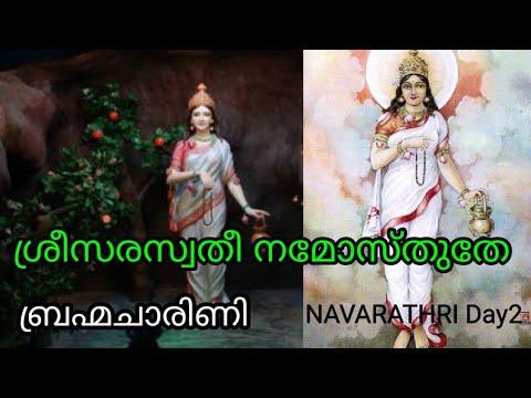 ശ്രീ-സരസ്വതി-നമോസ്തുതേ-|-sree-saraswathy-namosthuthe-|-navarathri-day-2-|-sree-vlogs-|-p.sreelatha