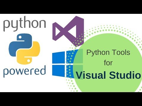 Python Tools for visual studio 2017