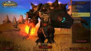 UPDATE 2: WoW Tauren Prot Warrior: Blisaed LvL 80 -11/23/2009