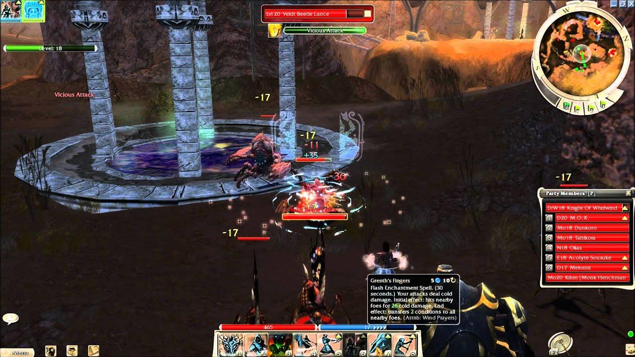 Guild Wars Nightfall Gameplay (HD)
