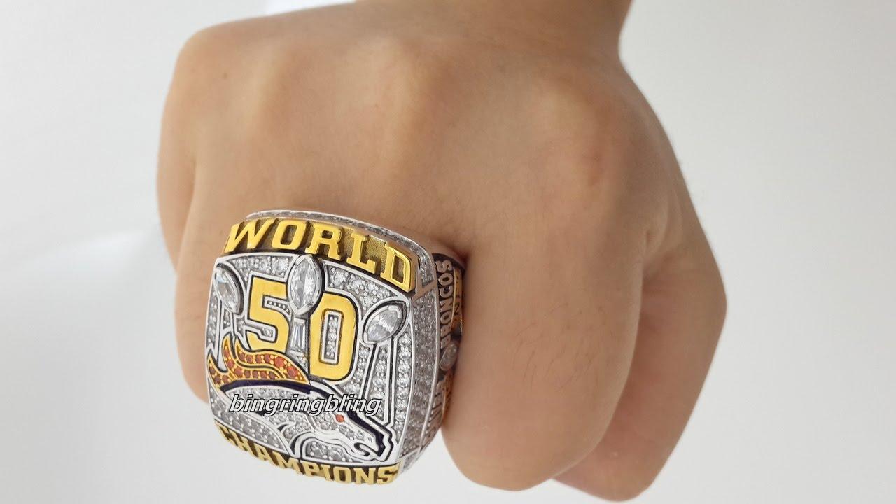 Denver Broncos Championship Ring