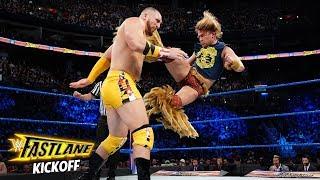 Chad Gable taunts Tyler Breeze: WWE Fastlane 2018 Kickoff Match