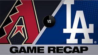 Maeda twirls 7 scoreless, Muncy HRs in win | D-backs-Dodgers Game Highlights 8/10/19