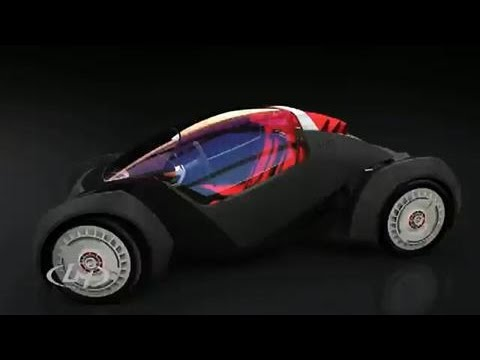 3D-Printed Electric Car Being Built in Chicago