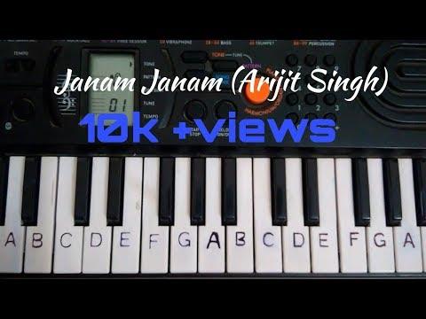 Janam Janam Easy Piano Tutorial.