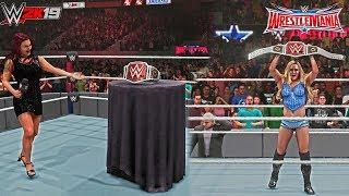 WWE 2K19 Women