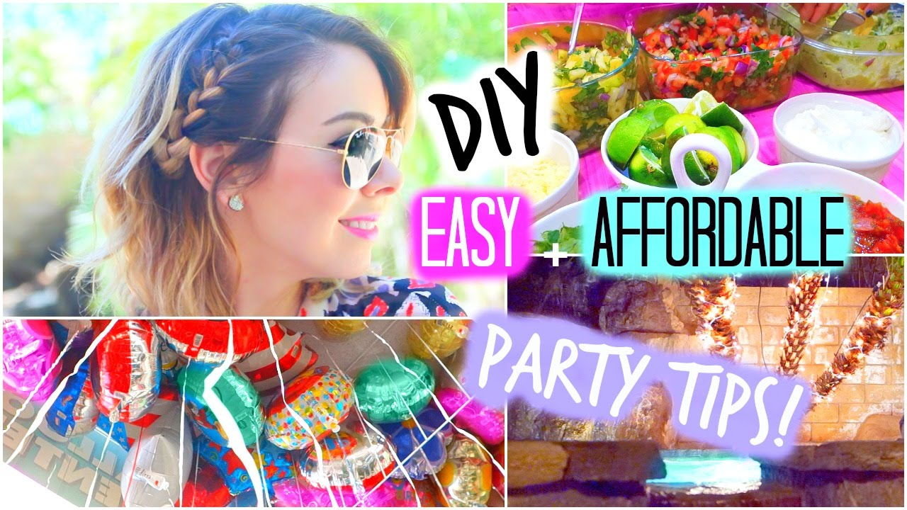 Diy Party Treats Decorations Quick Easy